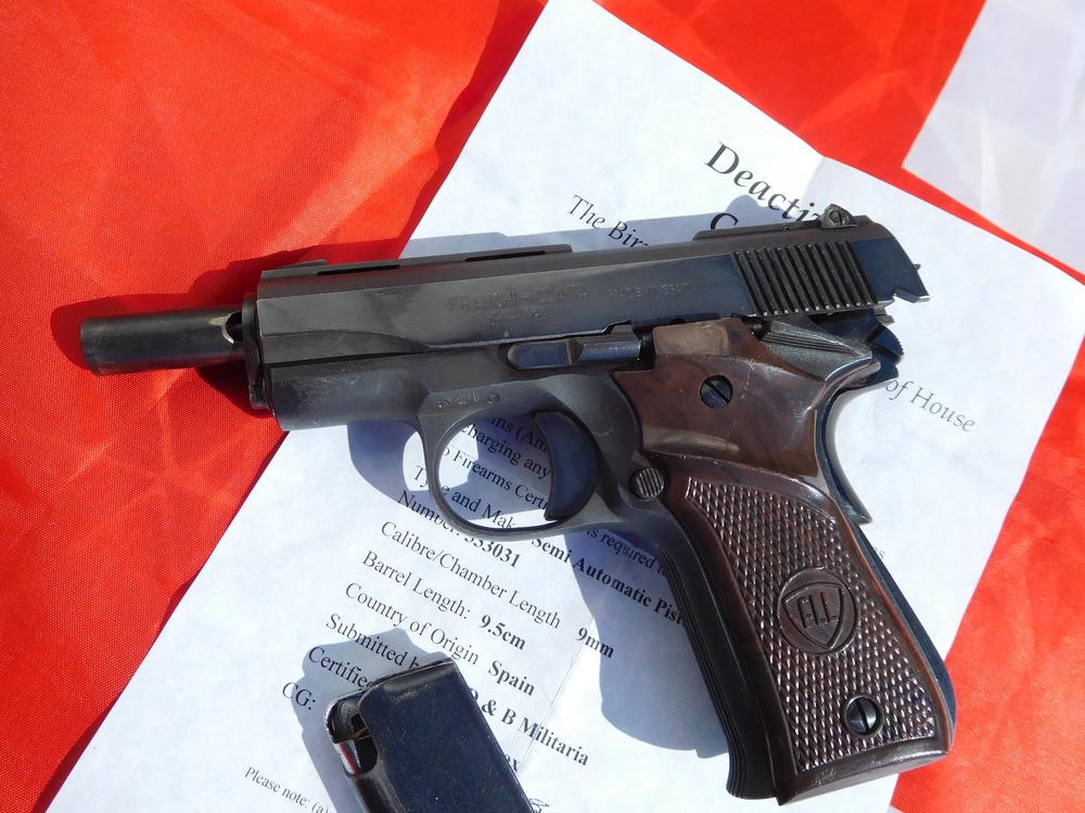 llama pistols 9mm