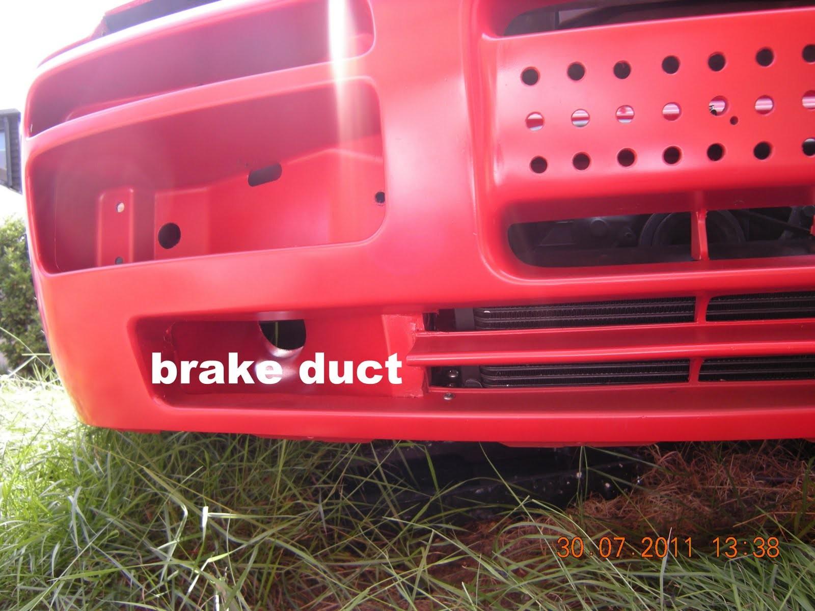brake duct