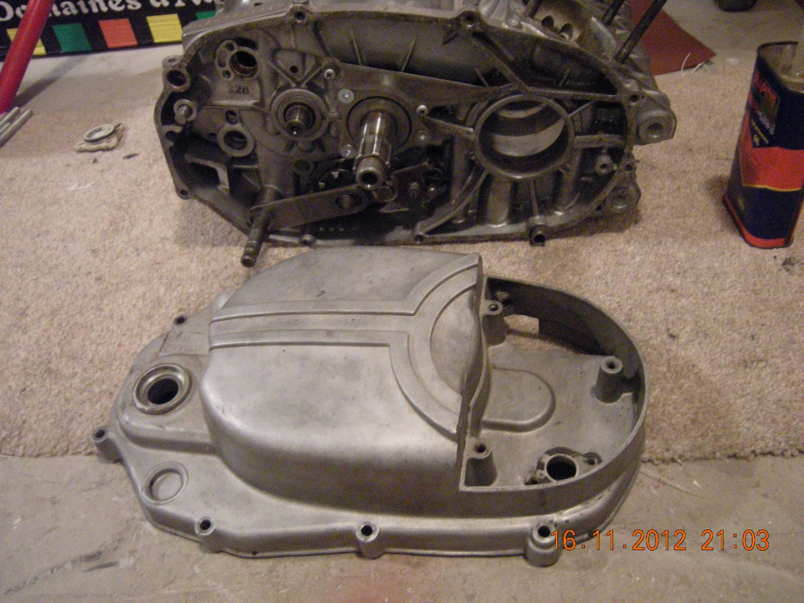 early clutch cover