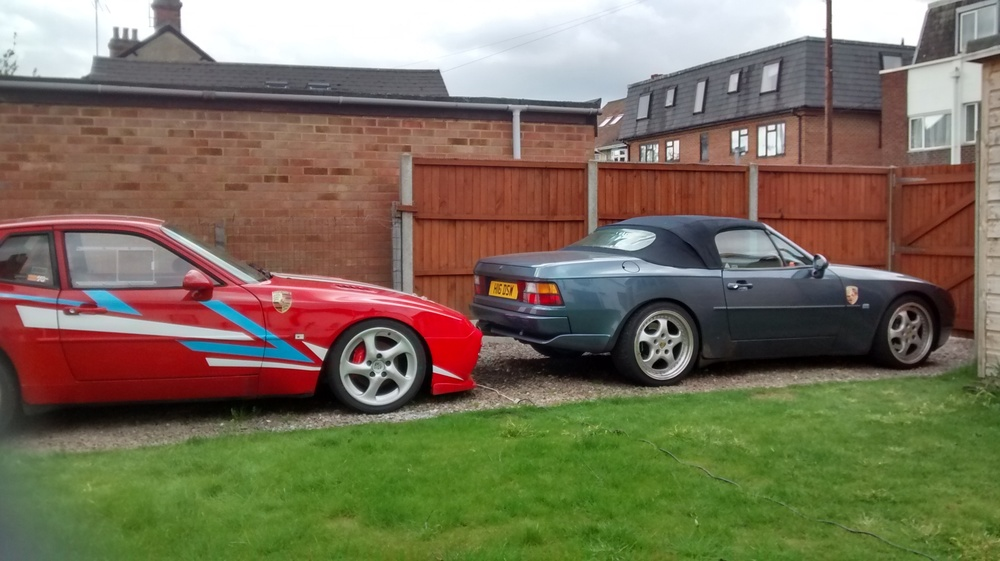 Both of my 944's on my drive