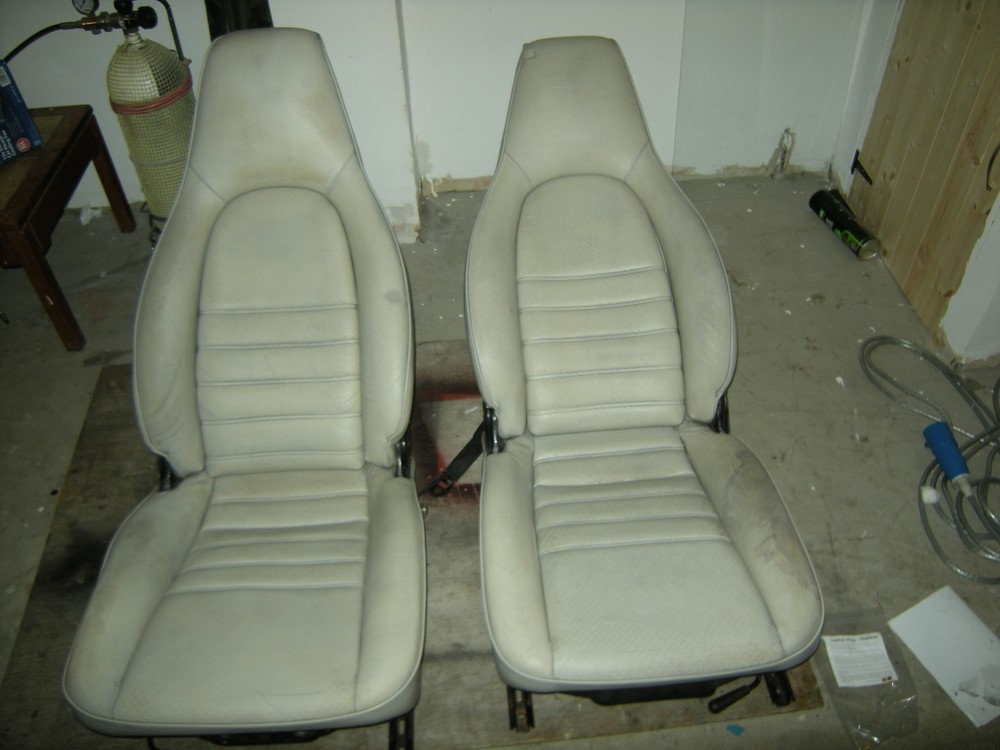 944 cab seats removed
