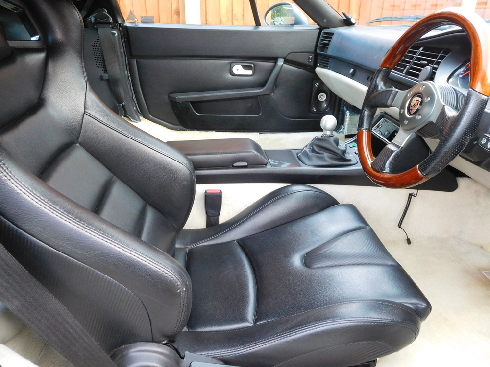 drivers seat fitted