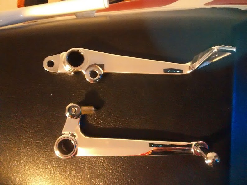 levers polished