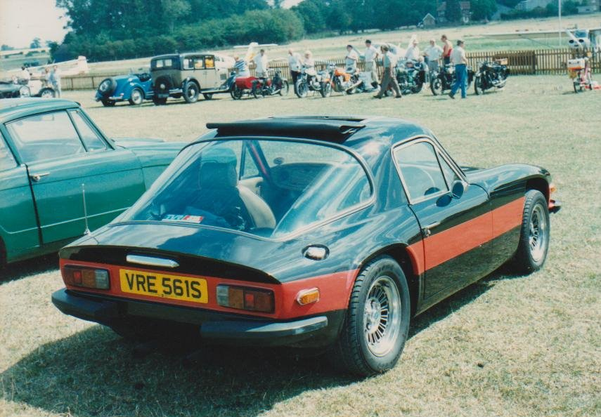 Classic car show. Old Warden 1990's