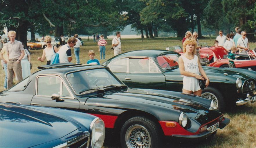 Another classic car show, with girlfreind at the time
