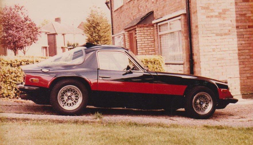 My TVR3000M, on my drive, Pennine ave, Sundon Park, Luton